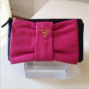 Prada Nappa Leather Clutch